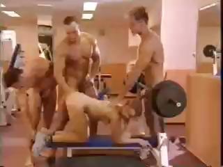 Gangbanged All over Dramatize expunge Gym