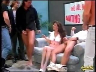 80s porn gangbang with curly crawl girl
